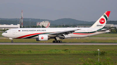 S2-AHK - Boeing 777-266(ER) - Biman Bangladesh Airlines