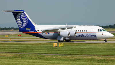OO-DJR - British Aerospace Avro RJ85 - SN Brussels Airlines