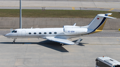 A picture of TCEDH - Gulfstream G450 - [4175] - © Mustafa Sandikci