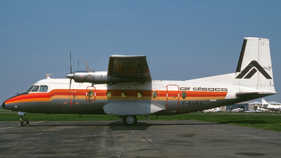 F-BVRV - Nord N-262A - Air Alsace