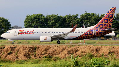 PK-LBY - Boeing 737-8GP - Batik Air