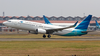 PK-GEP - Boeing 737-8AS - Garuda Indonesia