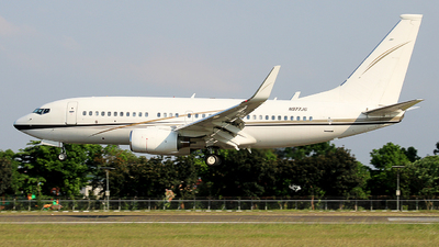 N977JG - Boeing 737-73Q(BBJ) - Jhonlin Air Transport