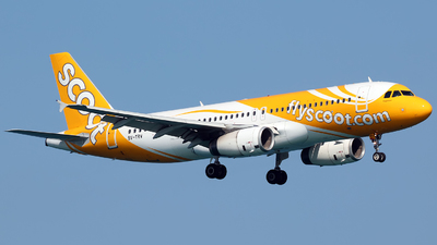 9V-TRV - Airbus A320-232 - Scoot