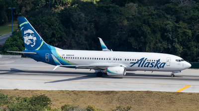 A picture of N562AS - Boeing 737890 - Alaska Airlines - © Marcel Hohl