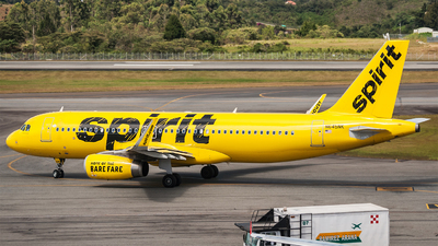 N645NK - Airbus A320-232 - Spirit Airlines