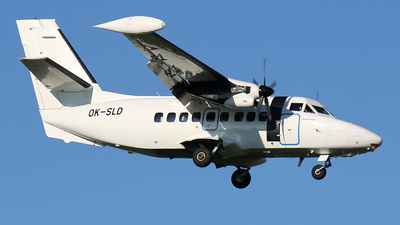 OK-SLD - Let L-410UVP-E9 Turbolet - Silver Air