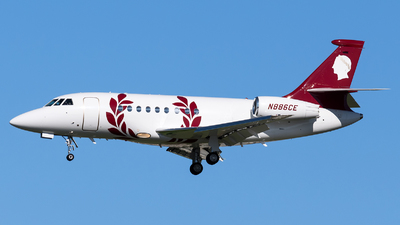 N886CE - Dassault Falcon 2000EX - Caesars Palace