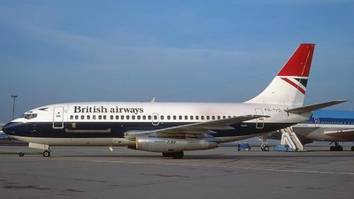 PH-TVD - Boeing 737-2K2C(Adv) - British Airways