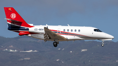 EC-NKH - Cessna Citation Latitude - Private