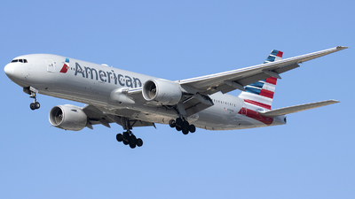A picture of N780AN - Boeing 777223(ER) - American Airlines - © Tony Goldin