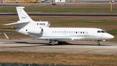 B-8029 - Dassault Falcon 7X - Private