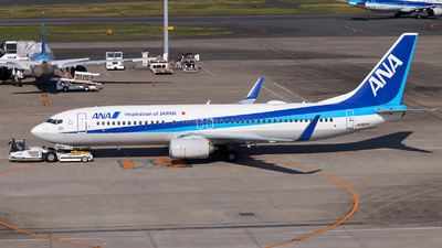 A picture of JA86AN - Boeing 737881 - All Nippon Airways - © Resupe