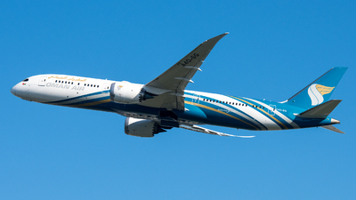 A picture of A4OSG - Boeing 7879 Dreamliner - Oman Air - © David W. Wilson