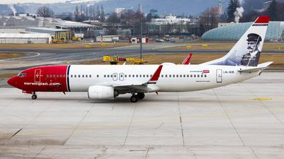 A picture of LNNIB - Boeing 73786J - Norwegian - © Manuel Valenta