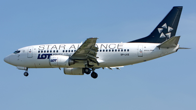 SP-LKE - Boeing 737-55D - LOT Polish Airlines