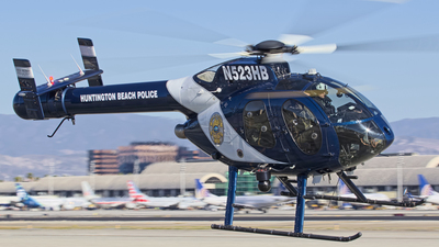 N523HB - McDonnell Douglas MD-500N - United States - Huntington Beach Police Department