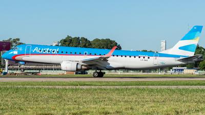 LV-GAQ - Embraer 190-100LR - Austral Líneas Aéreas