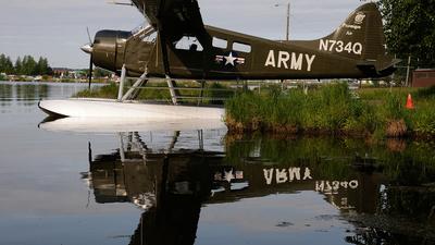 N734Q - De Havilland Canada DHC-2 Mk.I Beaver - Ptarmigan Air