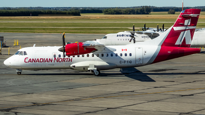 A picture of CFTIQ - ATR 42500 - Canadian North - © Grant Gladych