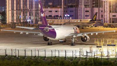 A picture of N660FE - Airbus A300F4605R - FedEx - © Chingwang Lee