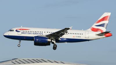 A picture of GDBCE - Airbus A319131 - British Airways - © Milanlhr
