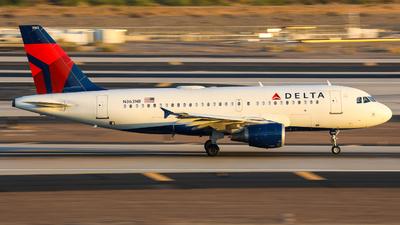 A picture of N363NB - Airbus A319114 - Delta Air Lines - © Lynn Aisin-Gioro