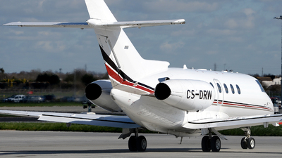 CS-DRW - Raytheon Hawker 800XP - NetJets Europe