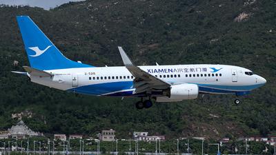 A picture of B5215 - Boeing 73775C - Xiamen Air - © Brian