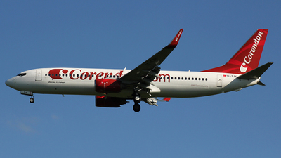 TC-TJH - Boeing 737-86J - Corendon Airlines