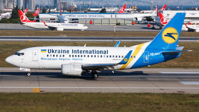 A picture of URGAT - Boeing 737528 - Ukraine Int. Airlines - © Matteo Lamberts