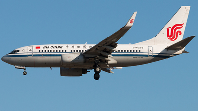 B-5228 - Boeing 737-79L - Air China