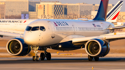 A picture of N118DU - Airbus A220100 - Delta Air Lines - © Kevin Cargo