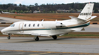 N588CC - Cessna 560XL Citation XLS - Private