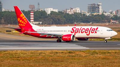 VT-MXA - Boeing 737-8 MAX - SpiceJet