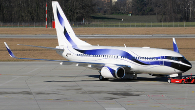 N111VM - Boeing 737-7GV(BBJ) - International JetClub