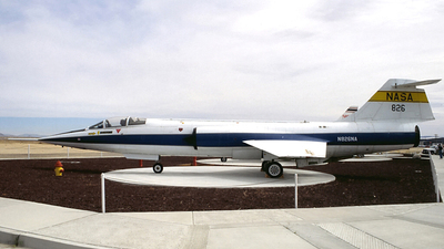 N826NA - Lockheed RF-104G Starfighter - United States - National Aeronautics and Space Administration (NASA)