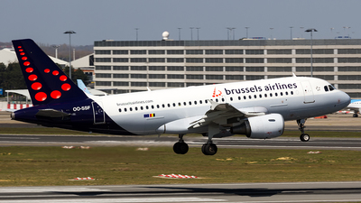 A picture of OOSSF - Airbus A319111 - Brussels Airlines - © Sotos