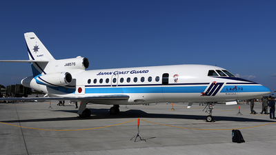 JA8570 - Dassault Falcon 900MSA - Japan - Coast Guard