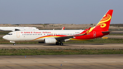 A picture of B6065 - Boeing 73784P - Hainan Airlines - © Charlie-Aviationphotography