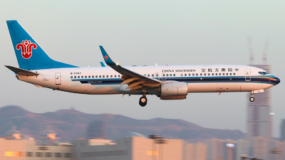 A picture of B5767 - Boeing 73781B - China Southern Airlines - © Tongjun XIANG