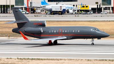 LX-LXL - Dassault Falcon 900LX - Global Jet Luxembourg