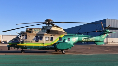 N951LB - Aérospatiale AS 332L1 Super Puma - United States - Los Angeles County Sheriff