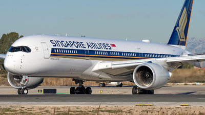 9V-SMU - Airbus A350-941 - Singapore Airlines