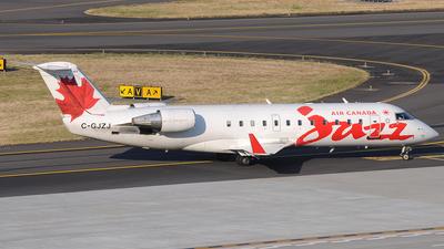 C-GJZJ - Bombardier CRJ-200ER - Air Canada Jazz