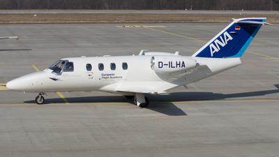 D-ILHA - Cessna 525 CitationJet 1 - Lufthansa Flight Training