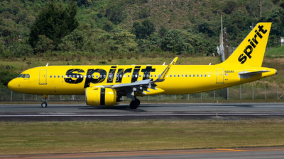A picture of N910NK - Airbus A320271N - Spirit Airlines - © Sergio Guevara