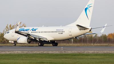 A picture of YRBMR - Boeing 7377K2 - Blue Air - © Mihai Cioponea