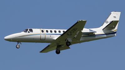 G-CGEI - Cessna 550B Citation Bravo - Private