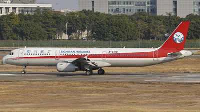 B-6718 - Airbus A321-231 - Sichuan Airlines